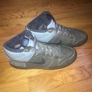2006 Nike Dunk High Premium Black Fives